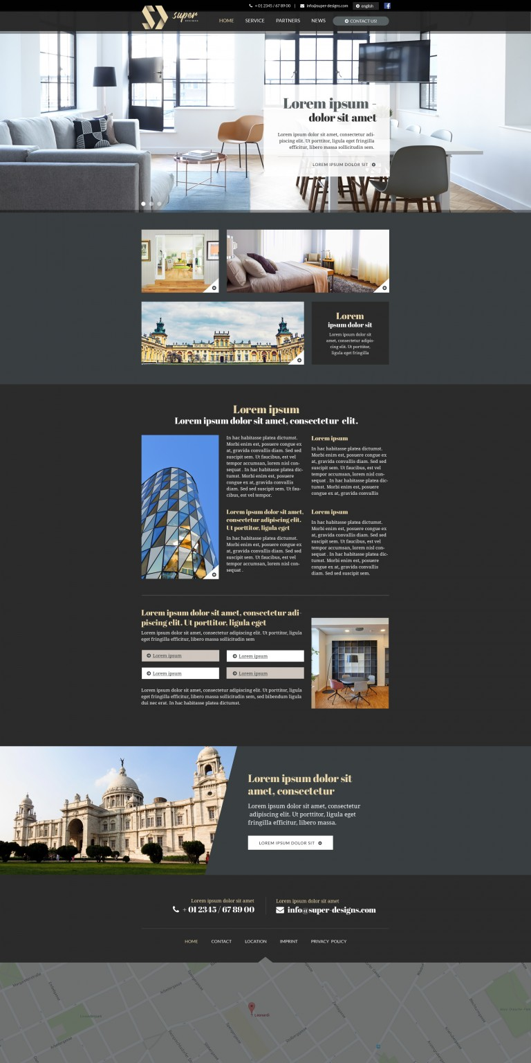 City Style Furniture HTML Template