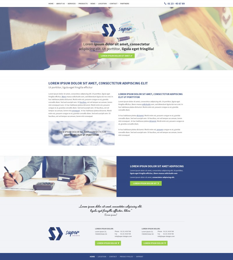 Value Business HTML Template
