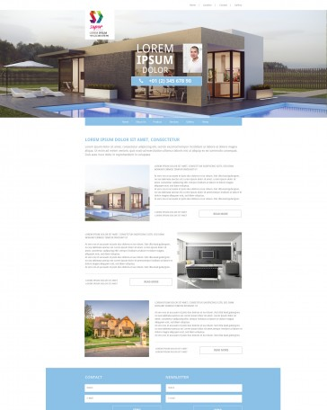 Dream Building HTML Template