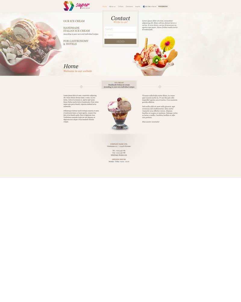 Sundae HTML Template