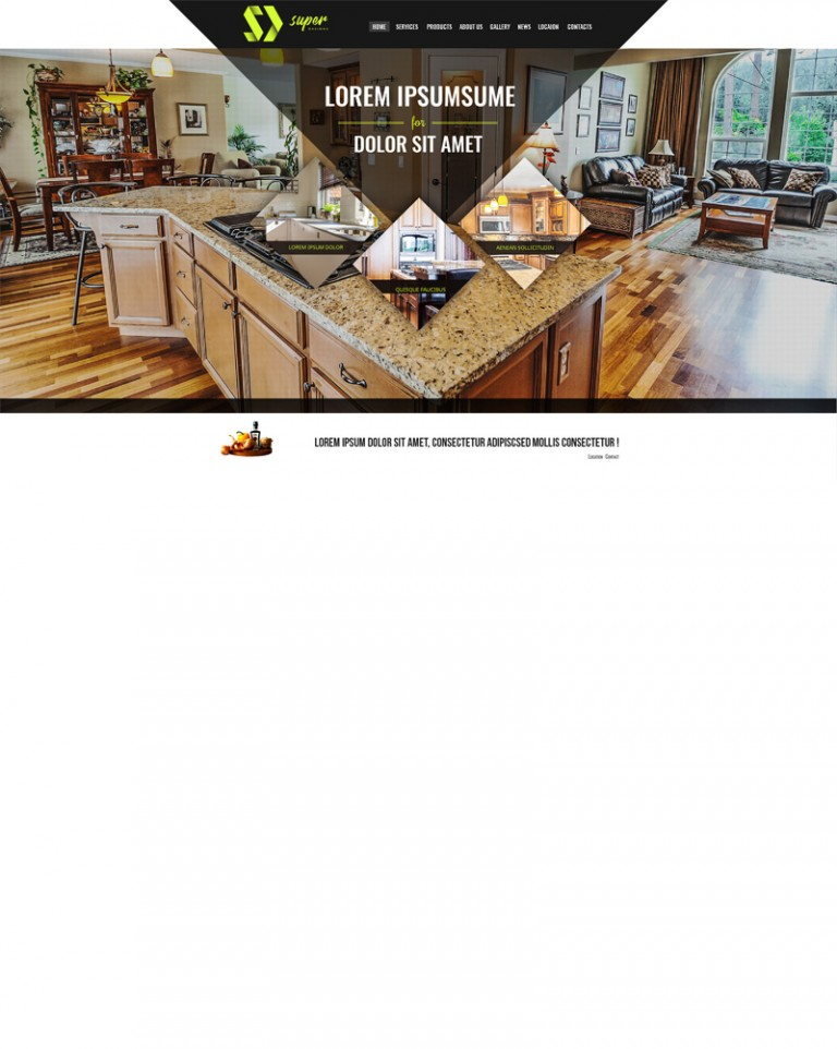 Fine Living Furniture HTML Template