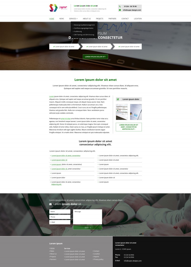 Erfolg Business HTML Template
