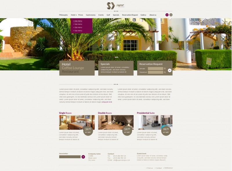 Luxury Resort HTML Template