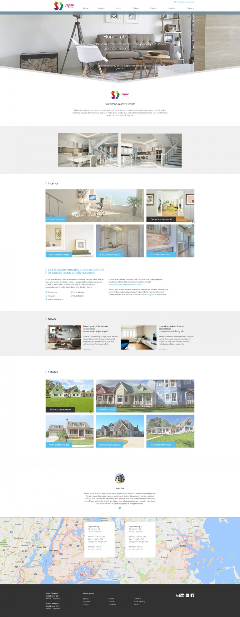King of the Home Furniture HTML Template