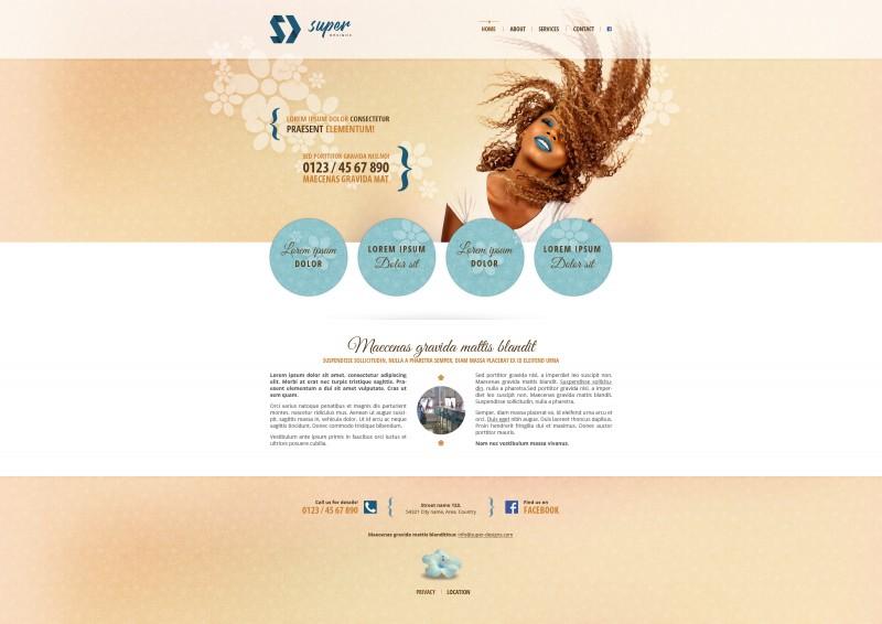 Bambooo PSD template