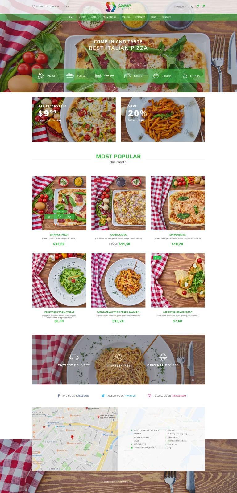 Food & Drinks #0120 - PSD - Oprencart